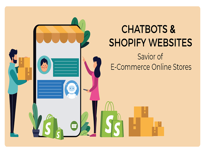Chatbots and Shopify websites Savior of eCommerce online stores