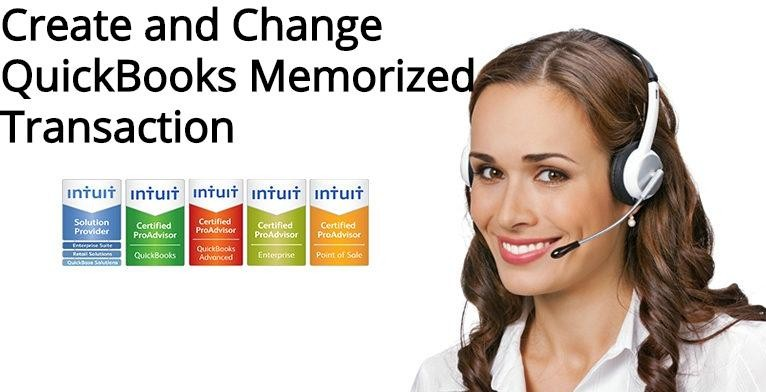 Create and Change QuickBooks Memorized Transaction: Complete Guide