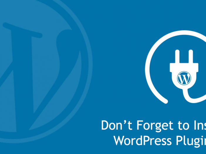 Don't Forget to Install WordPress Plugins in Your Business Website