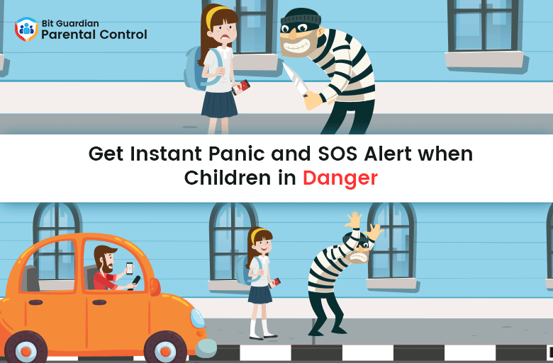 Get Instant Panic and SOS Alert when Children in Danger_ Bit Guardian Parental Control