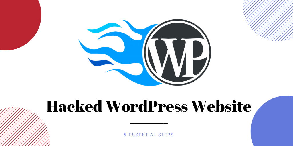 Hacked WordPress Website
