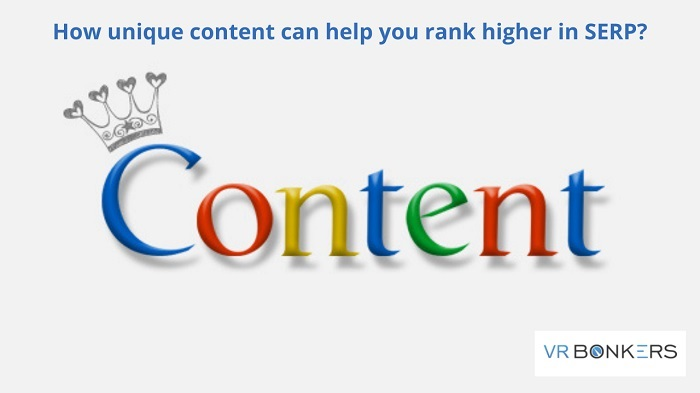 How unique content can help you rank higher in SERP